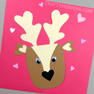 Valentine Deer Craft