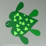 Heart Turtle Valentine Craft