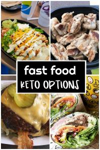 Keto Diet Fast Food Options