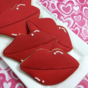 Sugar Cookie Valentine Lips