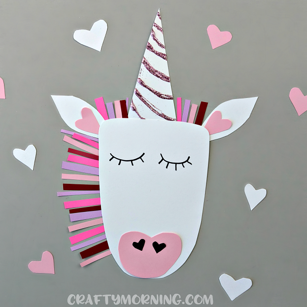 Valentine Day Craft Using Paper Plates