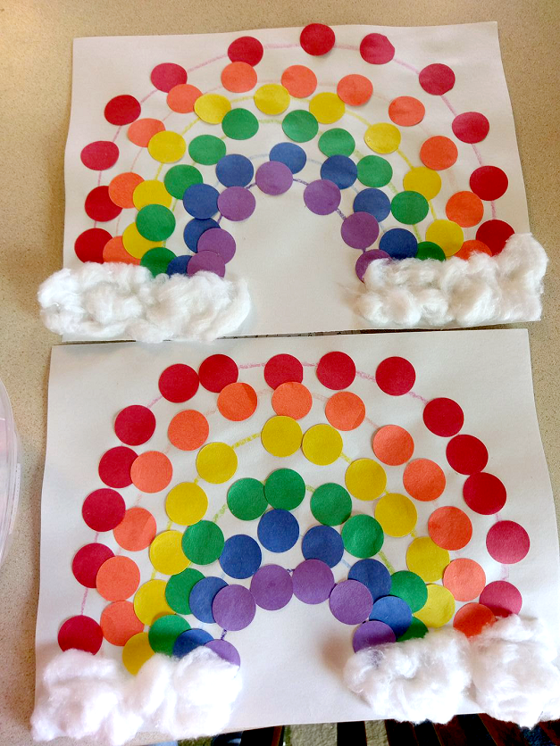 Easy Dot Rainbow Craft For Kids Crafty Morning