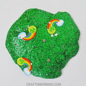 St. Patrick's Day Glitter Slime