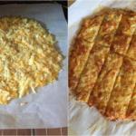 Keto Low Carb Cheesy Bread Recipe
