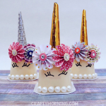 Unicorn Pudding Cup Party Favors