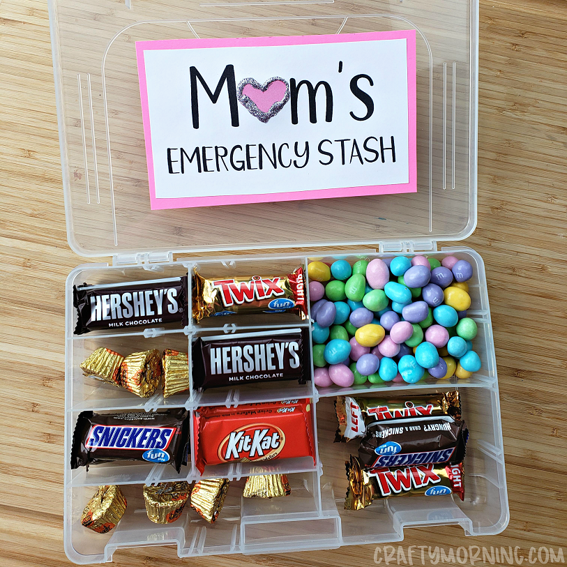 Tackle Box Mom S Emergency Candy Stash Crafty Morning
