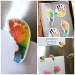 Shrinky Dink Fridge Magnets