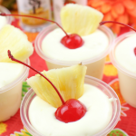Pina Colada Pudding Shots