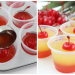Pineapple Upside Down Cake Jello Shots