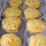 Keto Cheesy Garlic Biscuits