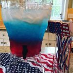 Red, White, and Blue Layered Punch