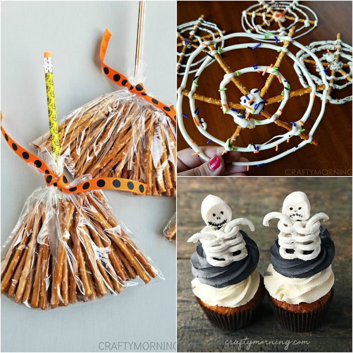Halloween Pretzel Treat Ideas Crafty Morning