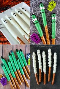 Halloween Pretzel Treat Ideas