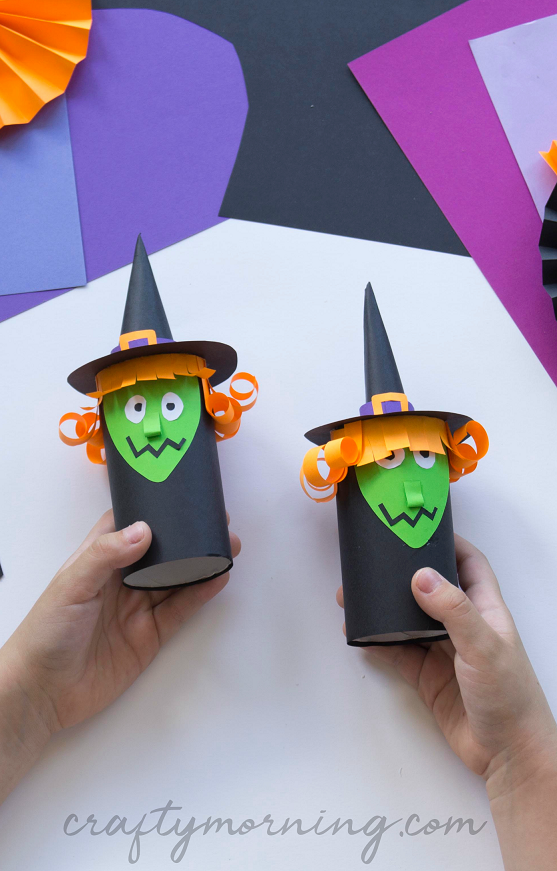 Toilet Paper Roll Witch Craft Crafty Morning