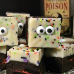 Halloween Monster Fudge