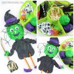 Build a Witch Playdough Activity
