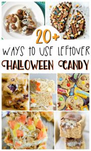 20 Recipes to Make Using Leftover Halloween Candy