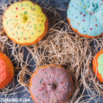 Painted Donut Pumpkins