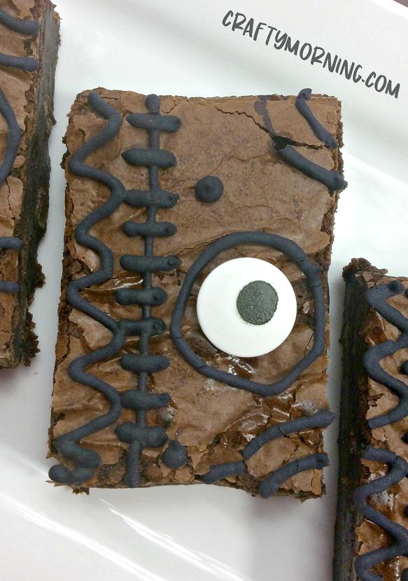 Hocus Pocus Spellbook Brownies Crafty Morning