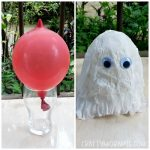 Make a Tissue Paper Ghost with a Balloon