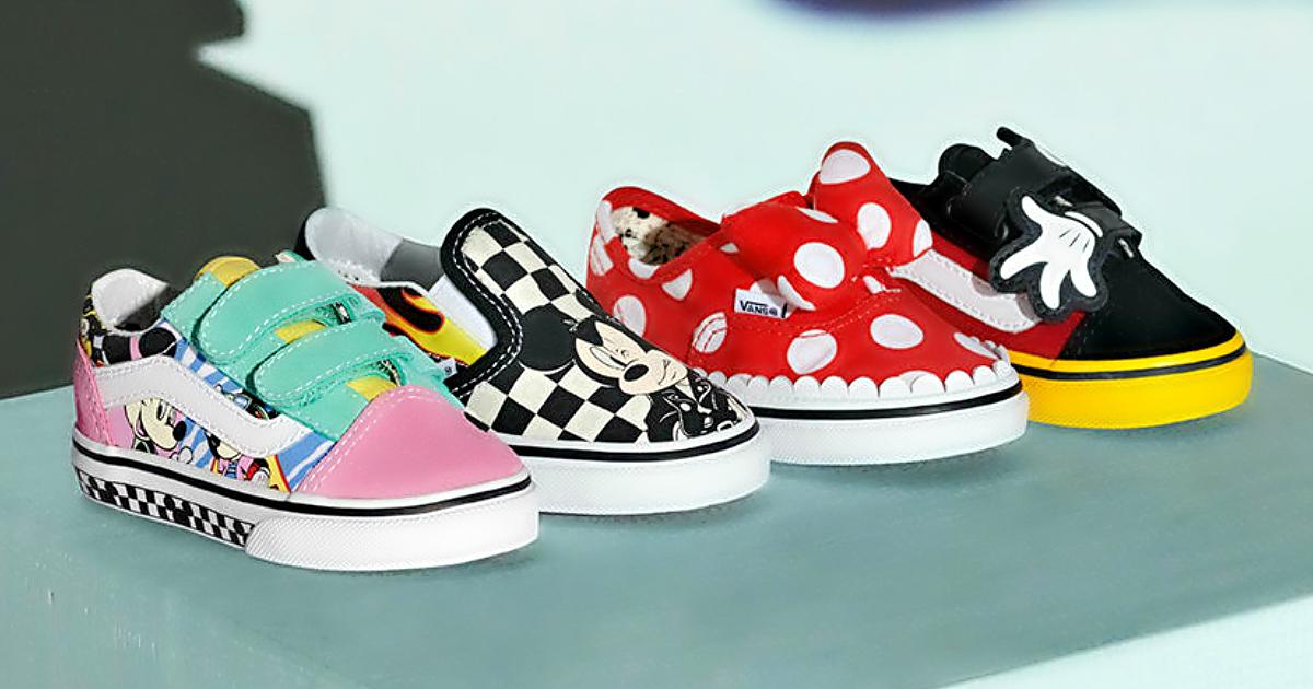 En el nombre Estallar Arena  Vans Launches New 90th Anniversary Mickey Mouse Collection - Crafty Morning