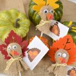 Turkey Lollipop Treats for Thanksgiving