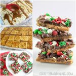 Christmas Toffee Crack Using Saltine Crackers