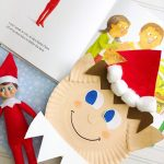 Paper Plate Elf on the Shelf Craft