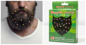 Fairy Christmas Lights for Men with Beards