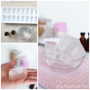 Ice Cube Tray Decongestant Shower Steamers