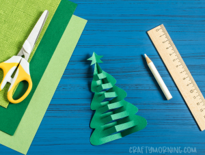 Pop-Up Christmas Tree Craft
