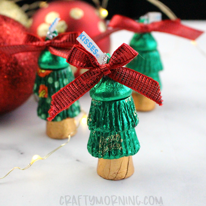 Reeses Christmas Trees Crafty Morning