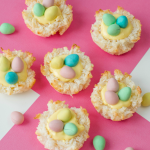 Easter Coconut Macaroons (Birds Nests)
