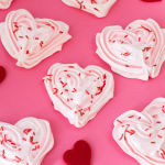 Heart Meringue Cookies