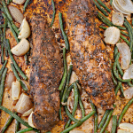Jerk Style Pork Tenderloin Sheet Pan Recipe