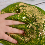 St. Patrick's Day Gold Leaf Slime