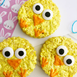 Rice Krispie Easter Chicks