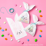 Easter Bunny Paper Treat Bags