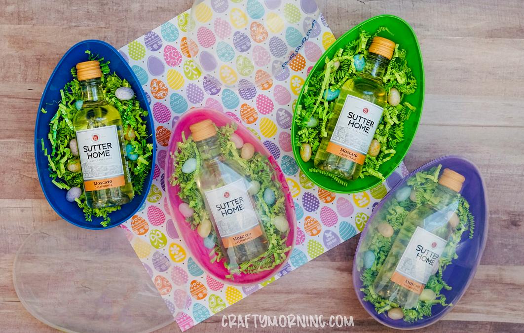 Adult Easter Egg Hunt Idea (Boozy Eggs)