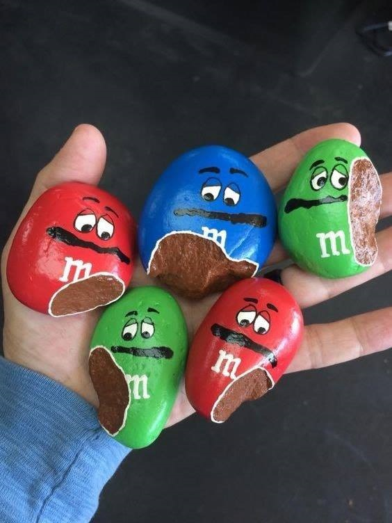 Cutest Painted Rock Ideas Crafty Morning