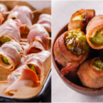 Bacon Wrapped Brussel Sprouts