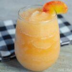 Peach Bourbon Slushie