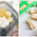 All Natural Frozen Banana Dog Treats...Keeps them Cool in the Summer!