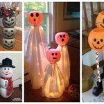 Dollar Plastic Pumpkin Bucket Craft Ideas
