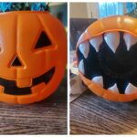 Plastic Pumpkin Monster