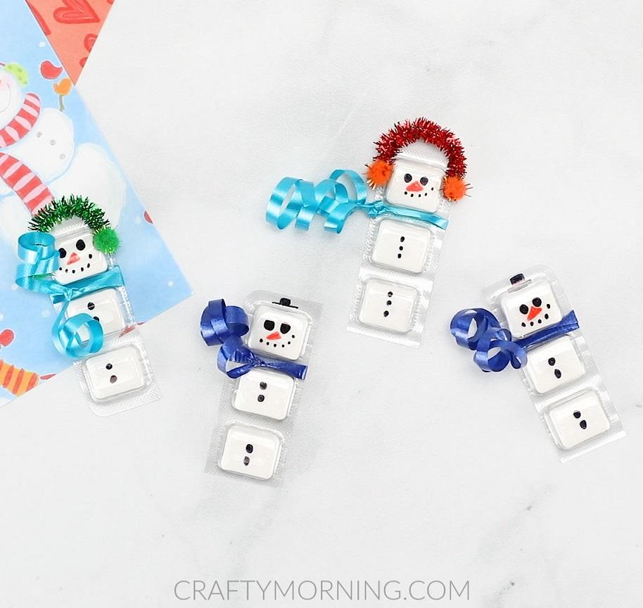 Gum Snowmen Gifts