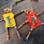 Candy Pumpkin People Treats