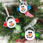Tea Light Snowmen Ornaments