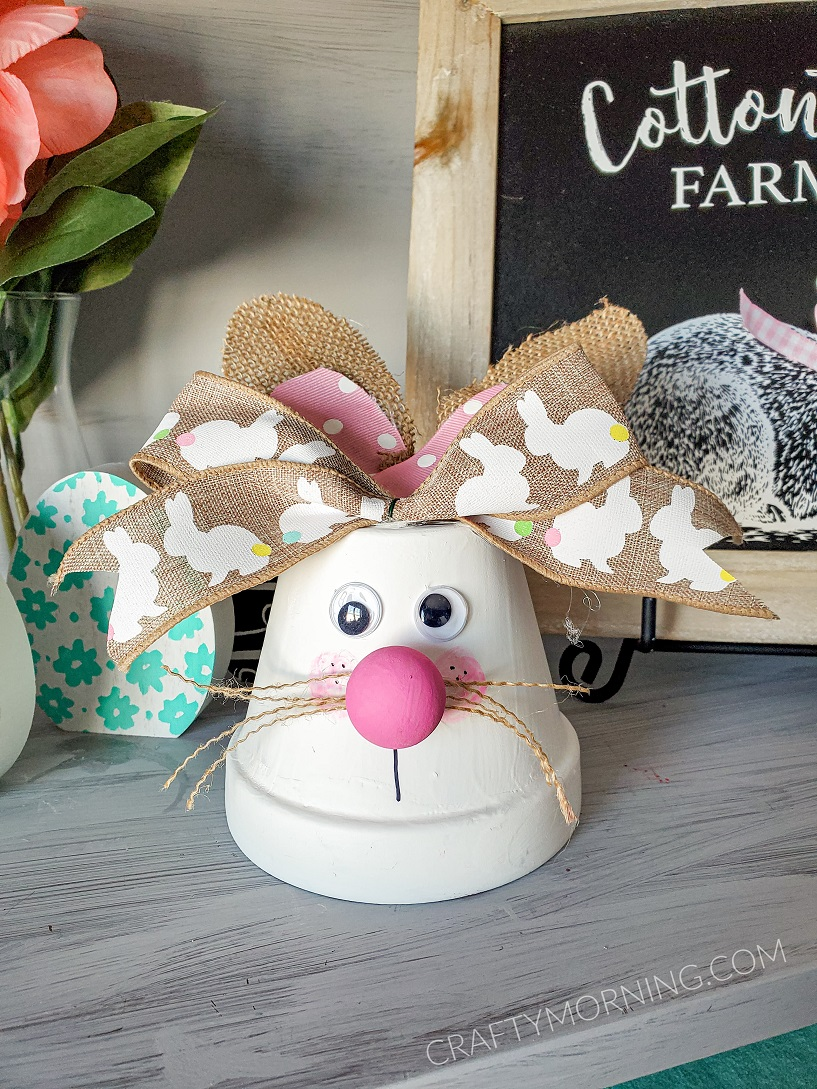 Flower Pot Bunny Craft