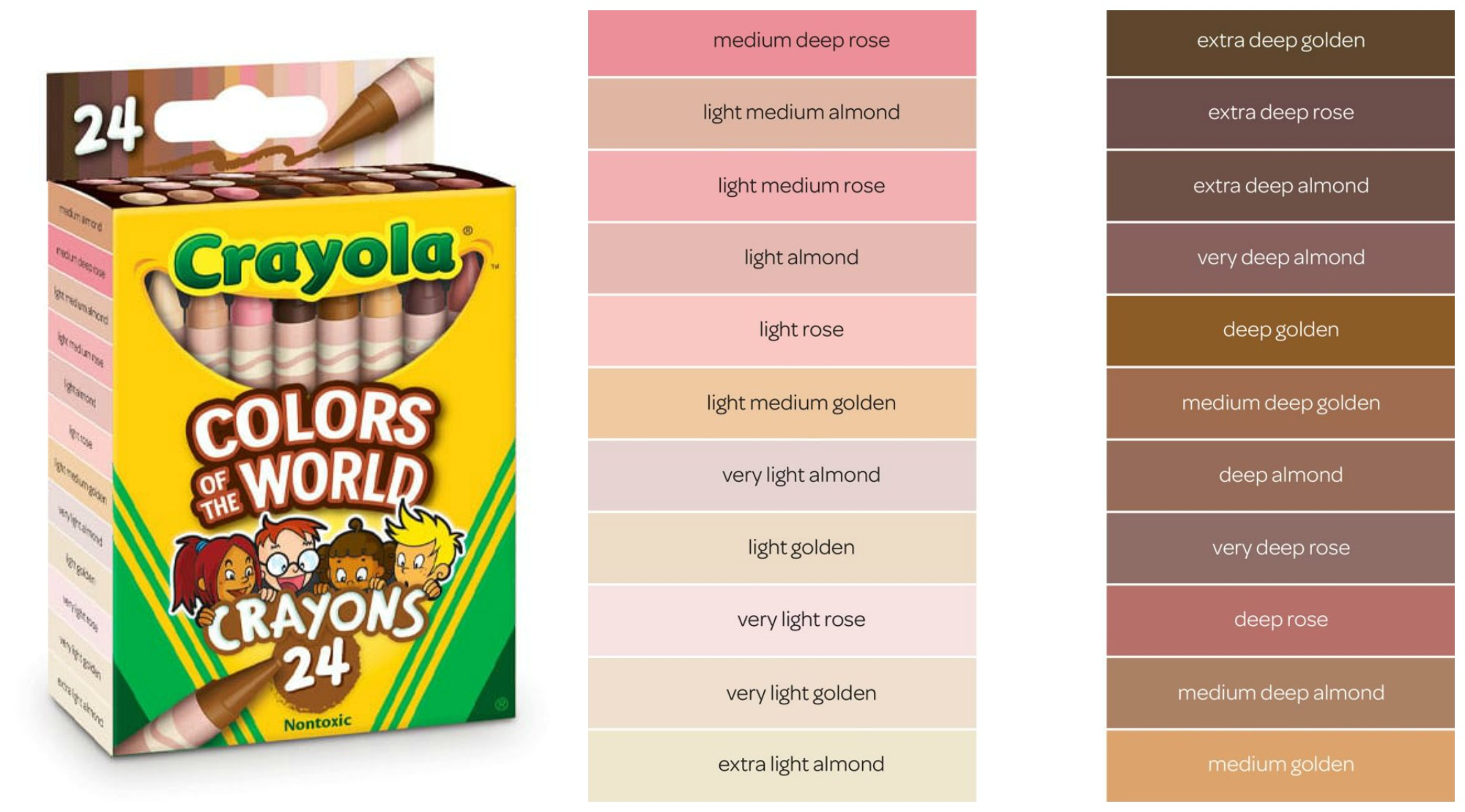 Crayola's Releasing 'Colors of the World' Crayon Box Including 24 New Skin Tone Shades